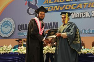 My Elder Brother Civil Engineer Zeeshan Saeed Kamboh S/o Muhammad Saeed Kamboh got 1st position in his Department of Civil Engineering.. 3 Gold Medals, 1 Silver Medal, Cheque of 60 Thousand Rs and also job of BPS 17 in Quaid e Awam University of Engineering Science and Technology Nawabshah Sindh department of civil Engineering.. He got Tripple honoured award a great achievement for KAMBOH Family. These pictures are taken from his Convocation Day held in March 2016..